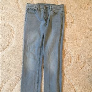 Levi Strauss & Co. light washed denim Jeans